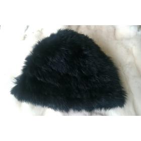 Jänesekarvaga kootud müts 58cm