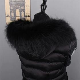 Must pesukaru karv/krae 80cm